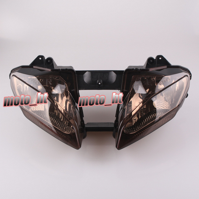 New Front Headlight Headlamp Assembly For Yamaha YZF 600 R6 2008 2009 YZF R6 Tawny 08 09
