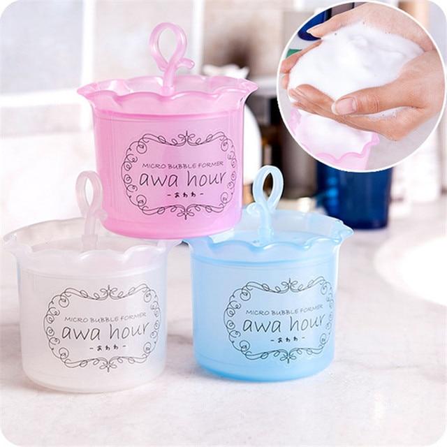 Taza de espuma a la moda Unisex belleza limpieza Facial Dispositivo de espuma taza botella batida herramienta limpiador taza de espuma