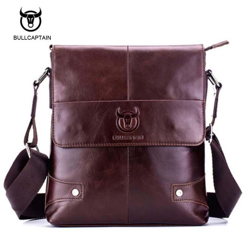 цена на Man Vertical Genuine Leather bag Men Messenger Business Men's Briefcase Designer Handbags High Quality Shoulder Bags NB089