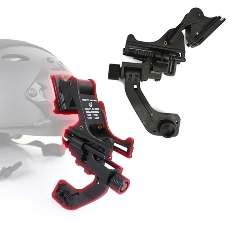 Hunting Tactical Paintball Fast Helmet Mount with NVG J Arm Adapter