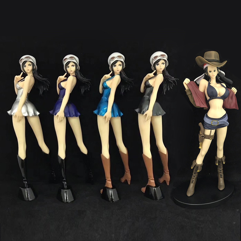 New Anime One Piece Action Figure Toy Nico Robin Sexy Toy Doll Collection Model Decoration Ornament Gifts For collection 25cm pop figurine collection toy figure model doll