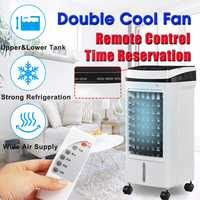 220V Air Conditioner Fan Humidification Air Cooler Conditioning Fan Timing Mobile Portable Home Small Air conditioning w/Remote