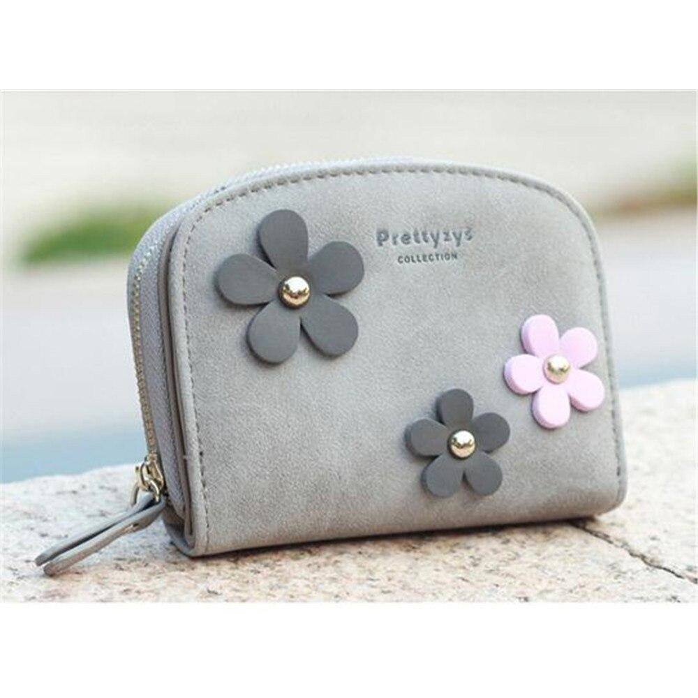 famosa marca carteira longa flor Female Wallet Material : PU Leather