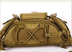 Image 4 - חדש גברים ירך חבילות חיצוני עמיד למים תיק זכר טקטי מותן תיק Molle מערכת פאוץ חגורה Bagpack ספורט שקיות צבאי