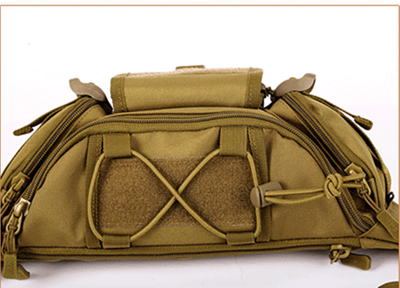 Image 4 - New Men Hip Packs Outdoor Waterproof Bag Male Tactical Waist Bag Molle System Pouch Belt Bagpack Sports Bags Military-in Waist Packs from Luggage & Bags