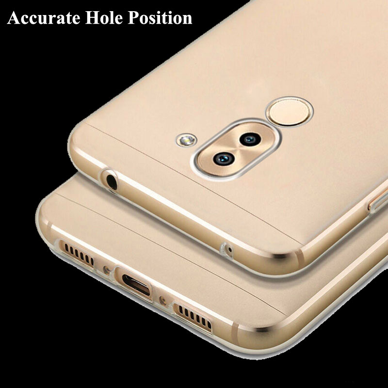 new product 0180d 59292 US $1.99 |Honor 6X Soft Gel TPU Cover for Huawei GR5 2017 5.5 inch Case,  Clear Skin for Huawei Mate 9 Lite Rubber Soft Silicone Back Cover-in Fitted  ...