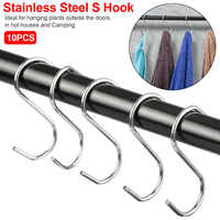 10pcs Kitchen Hanging Hanger Storage Holders Organizer Household Home Essential Useful New S Shaped Hooks