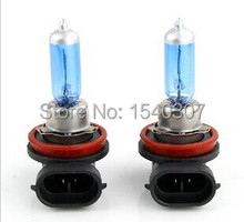 10pcs/lot Auto  H8 Long Life Halogen Car Bulb Lamp 6000K 12V 35W New
