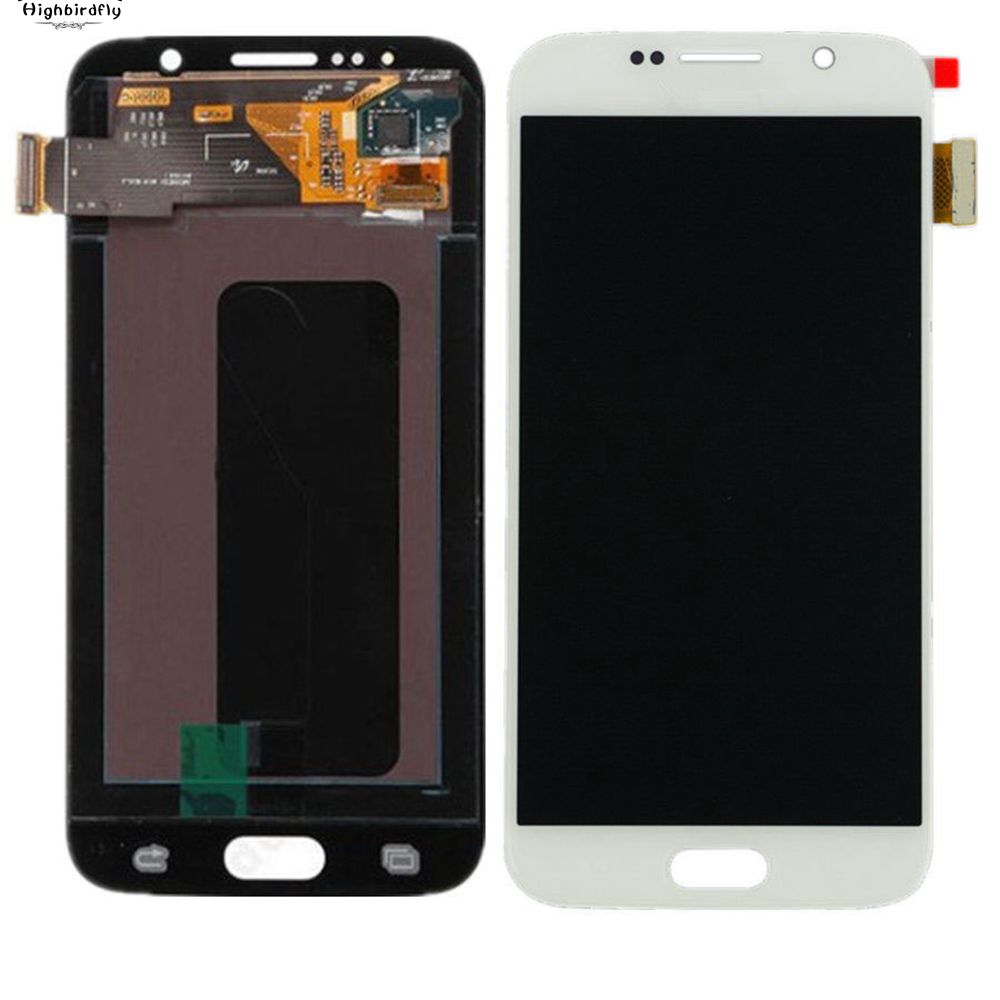 Highbirdfly For Samsung Galaxy S6 G920 G920F G920I G920A Lcd Screen Display +Touch Glass Digitizer Assembly Amoled