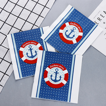 10pcs ocean sea food-grate Printed napkin paper servilletas decoupage decorated Virgin Wood Tissue 33*33cm