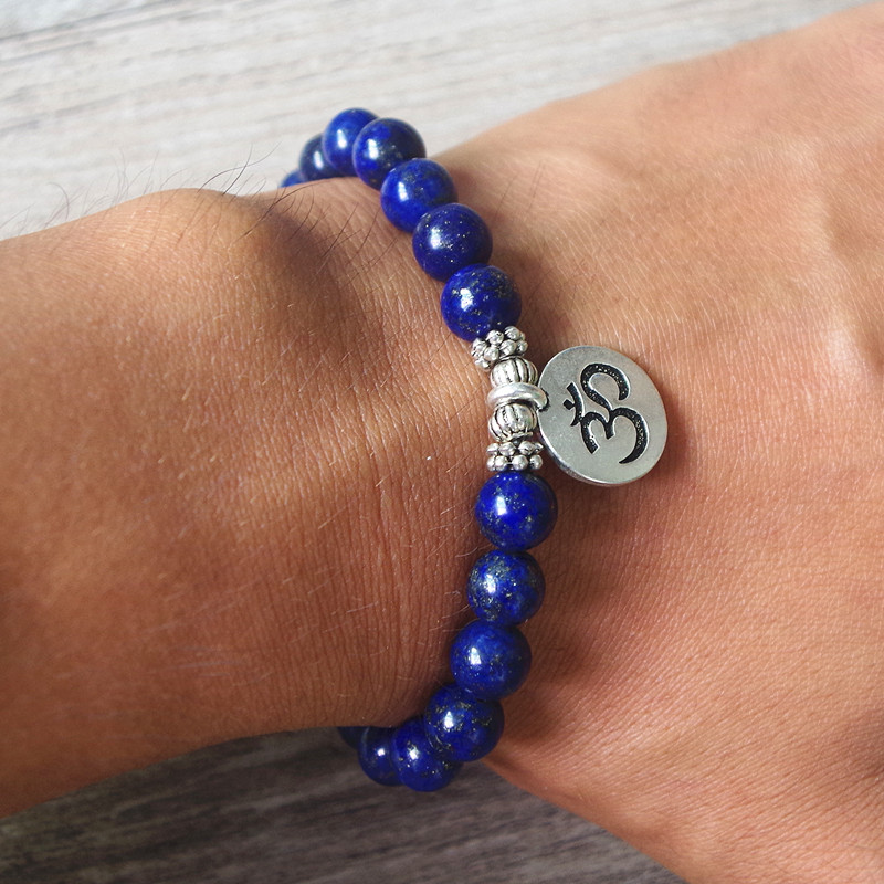 Lazurite Mala Bracelet 5