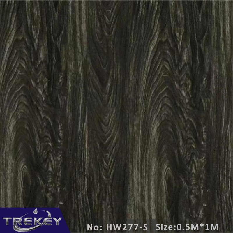 0.5 m * 1 m 나무 패턴 수문 필름 물 전송 인쇄, 아쿠아 인쇄 필름, 불규칙한 표면 인쇄 hw277s