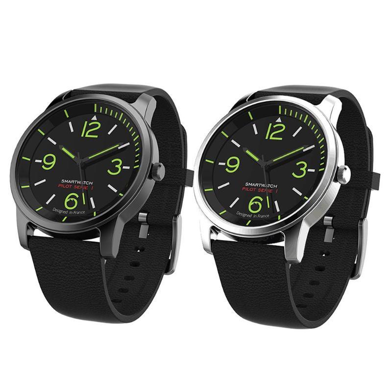 Vanpower S-69 30ATM Wasserdicht Quarz Männer watchwrist Leder und Sport Uhr Uhr nachtsicht Bluetooth Smart Uhr