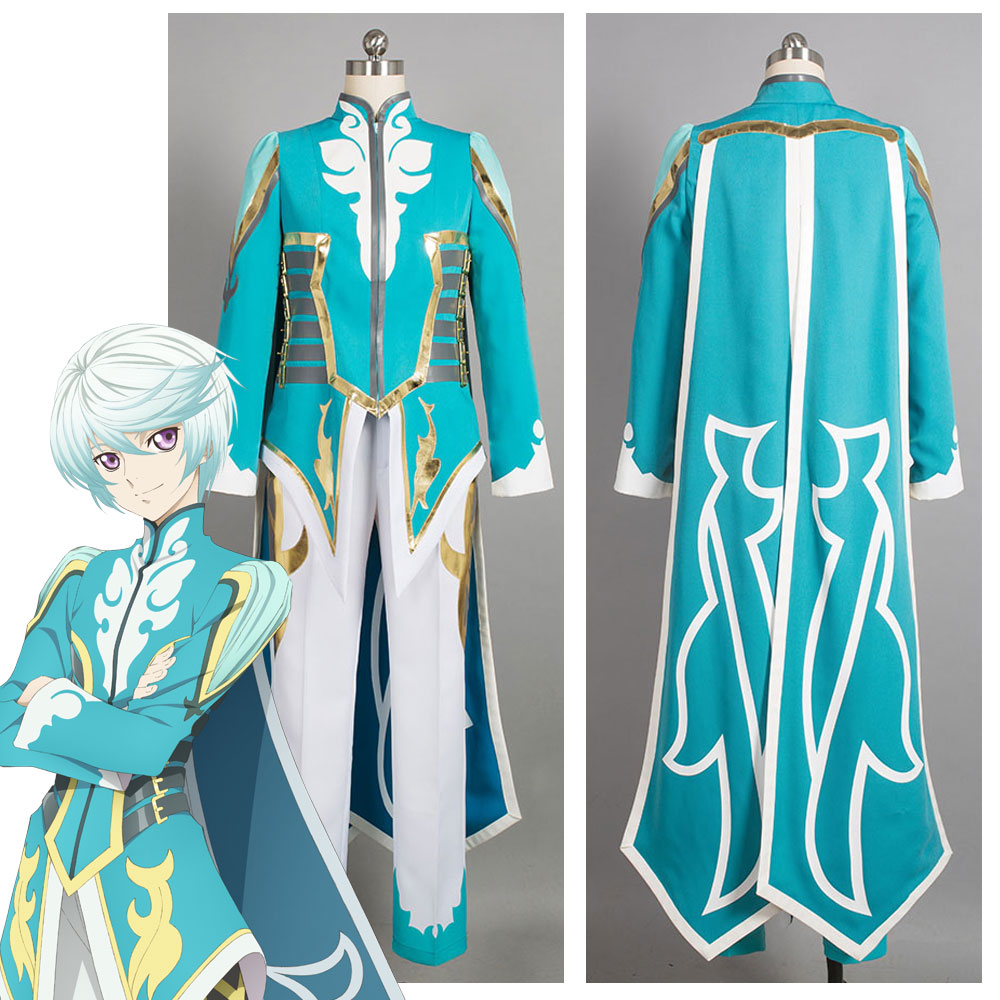 Anime Aselia The Tales Of Zestiria Mikleo Cosplay Costume Dress Halloween Carnival Party Costumes