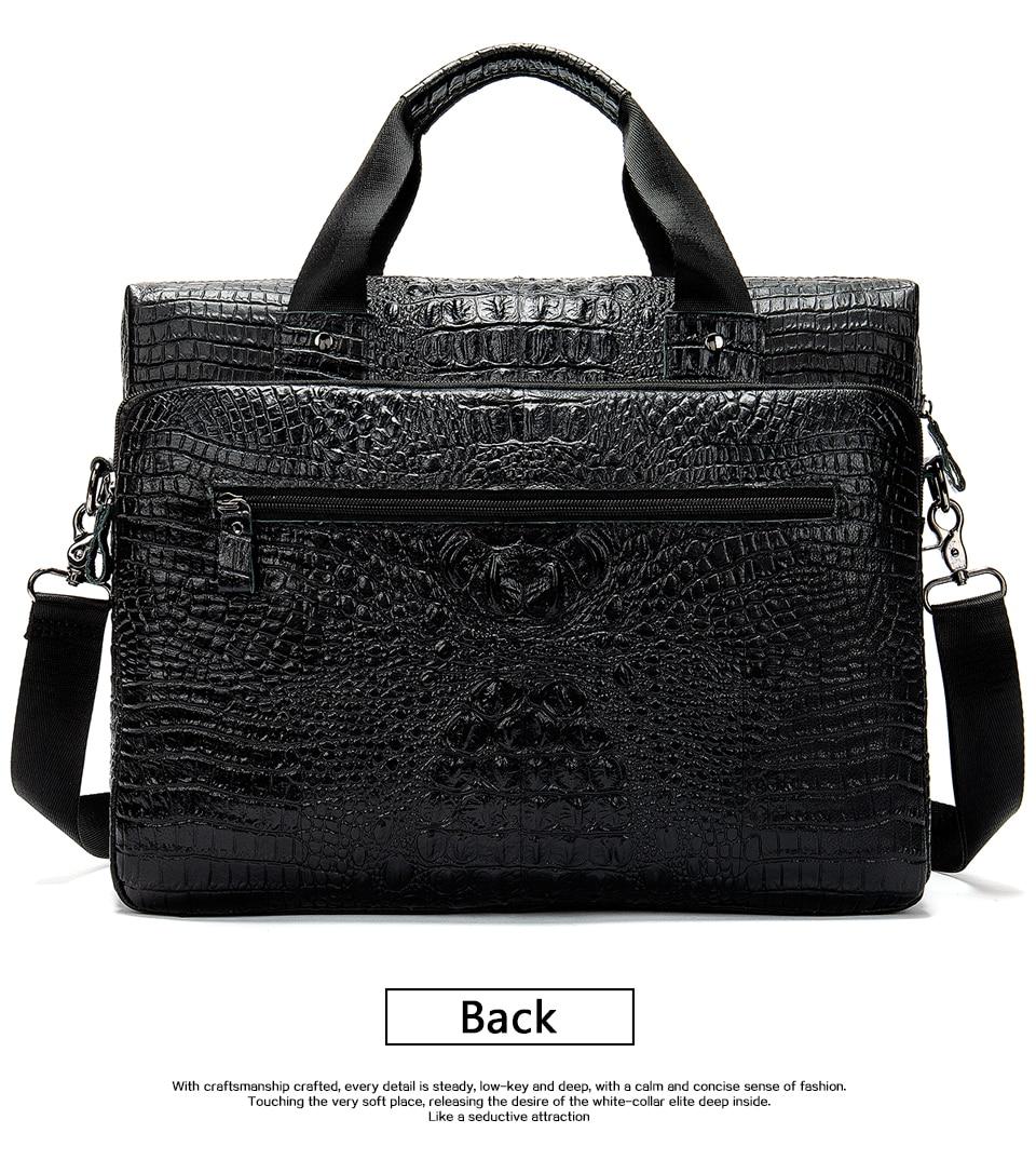 HTB1sFYmXgaH3KVjSZFjq6AFWpXa4 MVA Male briefcase/Bag men's genuine leather bag for men leather laptop bags office bags for men Crocodile Pattern handbag 5555