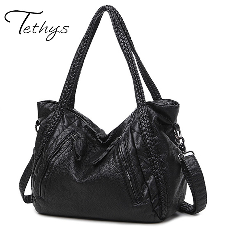 2017 Large Soft Leather Bag Women Handbags Ladies Crossbody Bags For Women Shoul