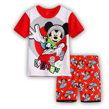 Toddler Boys Clothing Sets Summer 2018 Cartoon Mickey Baby Boys Cotton T-shirt And Shorts 2Pcs Suit Children Casual Clothes Set
