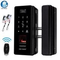 OBO HANDS Smart Fingerprint Door Lock Biometric RFID Electric Password Lock for Access Control Safe for Glass Wooden/ Metal Door