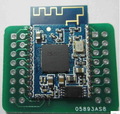 100pcs lot IS1681S bluetooth audio diy board