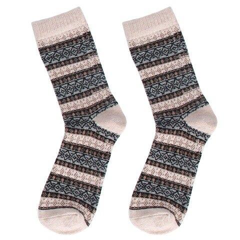 2018 New Autumn Casual Mens Socks Stripe Wool Socks Business Male Socks Pakistan