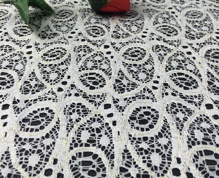 2017 lo más nuevo Cintas y blondas para costura parches de encaje blanco parche de tela de encaje de alta calidad ajuste Tissu Ruban Dentelle sentí - 3