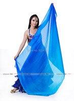 Belly dance veils colors 100% Silk scarf silk scarf 200*110cm for belly dance silk veils