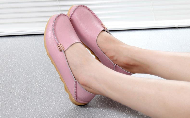 AH912 (18) women's loafers shoe