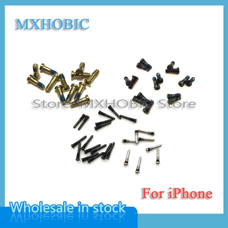 Bottom-Dock-Connector 6plus iPhone 6 XS for 6plus/6s/7/.. 5S Screws Pentalobe-Screw 100pcs/Lot