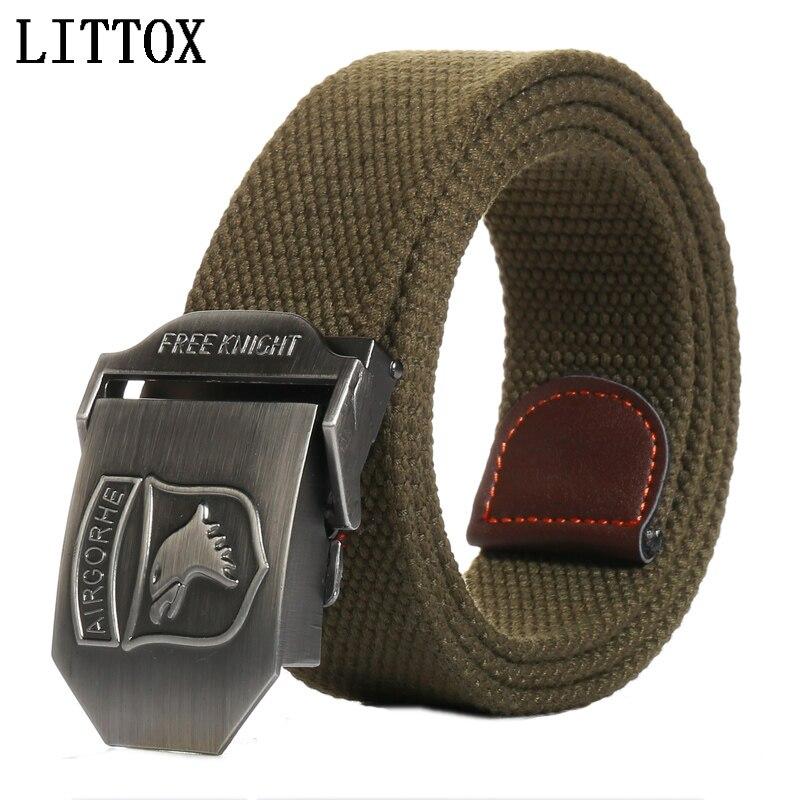 e4628ec4022 Unisex Personality automatic belt Eagle buckle canvas belt Military Belts  For Mens   Women Luxury Patriot Jeans Outdoor Belt-in Women s Belts from  Apparel ...