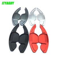 New Style 2pcs Lot Aluminum Steering Wheel Shift Paddles For A3 A4L A5 A6 A7 A8
