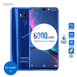 На Алиэкспресс купить стекло для смартфона tempered glass for oukitel k9 k10000 mix k12 u20 plus k10 c17 pro c16 c15 screen protector 9h protective film on okitel k 9 12