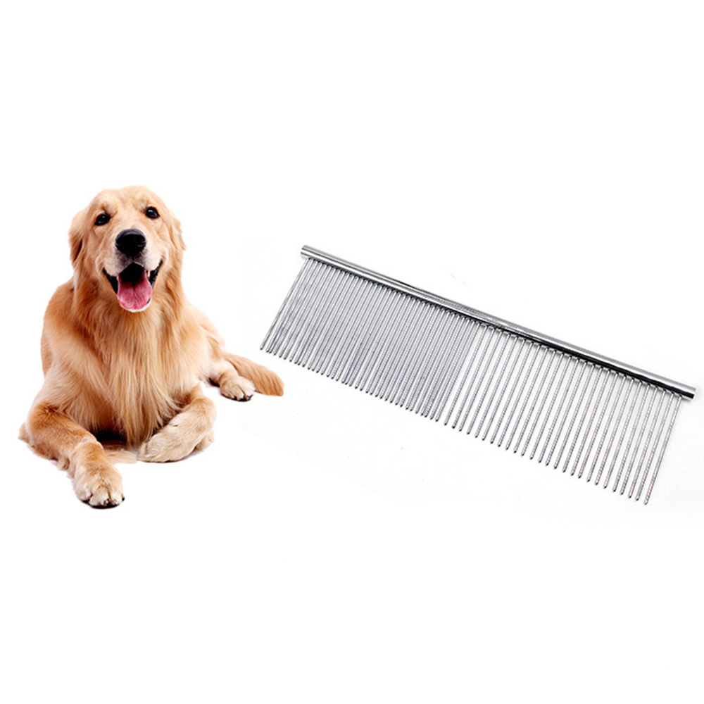 Stainless Steel Row Combs For Dogs Cats Pets Professional Cut Hair