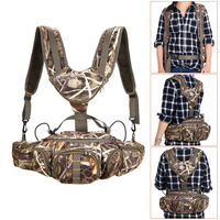 Multifunctional Camping Bags Climbing Camouflage Bag for Outdoor Hiking Fishing Camping Sports Hunting Fanny Pack