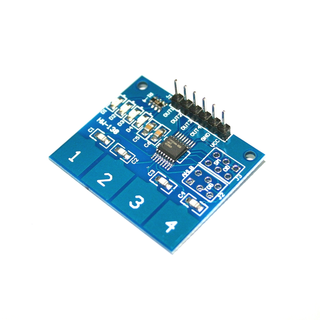 Computer Peripherals 1pcs 4 Keyboard Board Module 4 Button Tactile Switch For Arduino Clearance Price