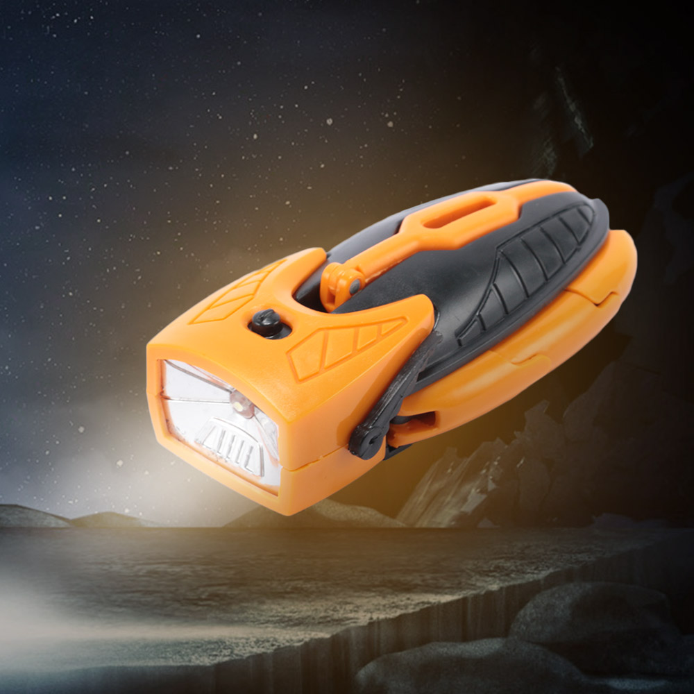 Hot Sale Deformation LED Robot Toy Multifunction Light Outdoor Camping Flashlight Torch Lamp Robot Toy For Child