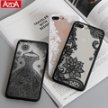 Luxury Sexy Lace Floral Henna Mandala Palace Flowers Phone Case For iphone 5s Cover For iphone 5s 5 5C SE 6 6s 6Plus 7 Plus