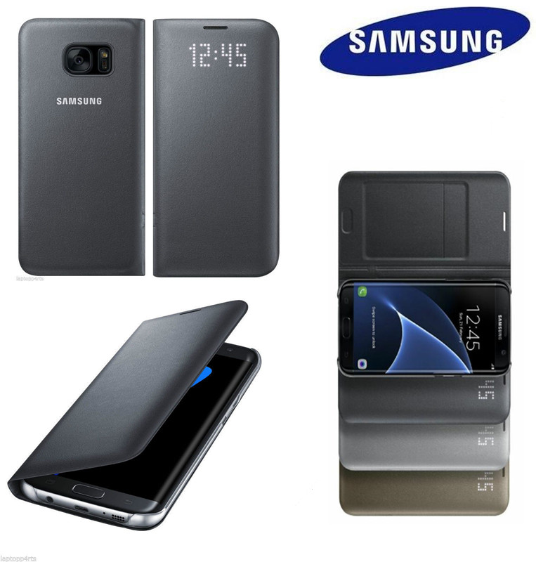 100 Original Samsung Galaxy S8 S8 S8 Plus g9550 9500 LED Flip Cover Case EF NG950