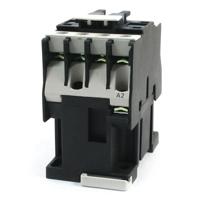 9A 3 Phase 3 Pole 1NC 24VAC 36V 220V 380V 50Hz / 60Hz Coil Volt AC Contactor Relay Motor Magnetic Starter 35mm Din Rail Mount