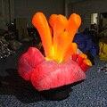 Красота партия Надувные Водорослей Для Украшения Со СВЕТОДИОДНОЙ Подсветкой надувные led водорослей мигает игрушки