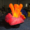 Beauty party Inflatable Seaweed For Decoration With LED Lighting inflatable led seaweeds flashing toy