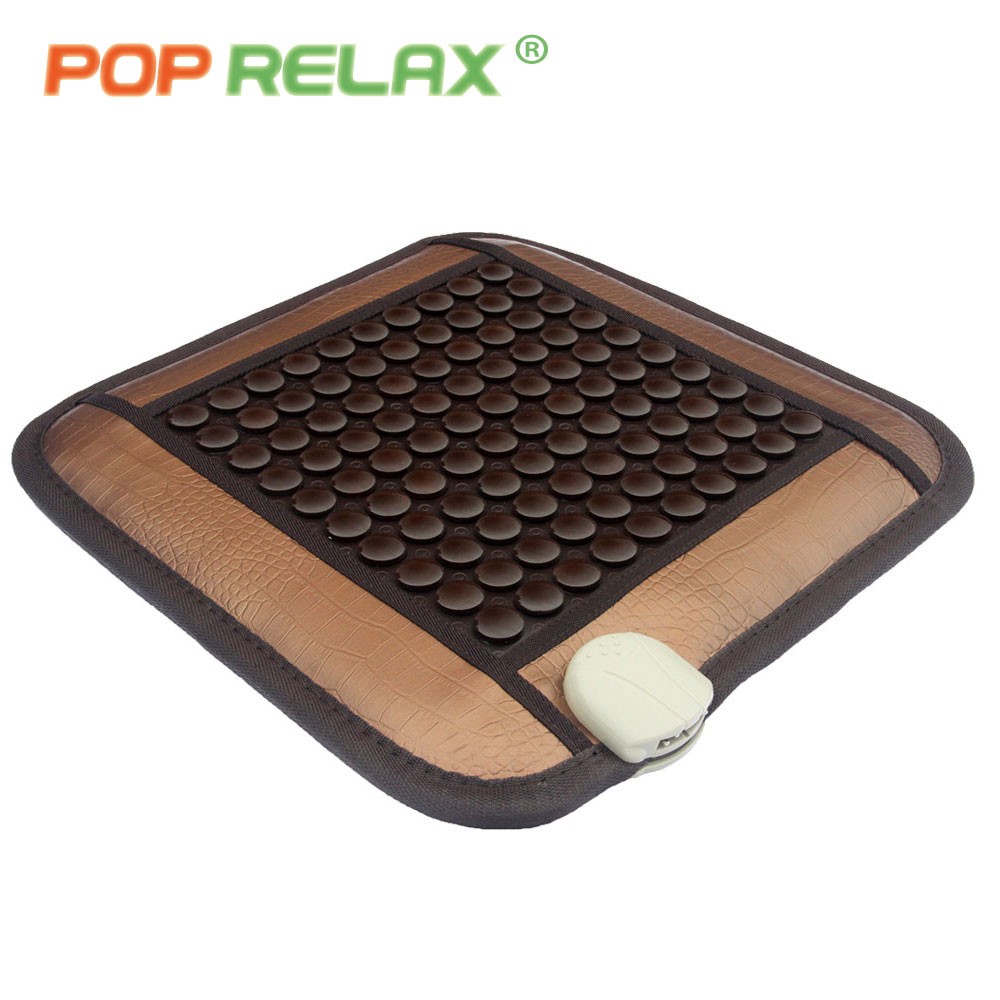 POP RELAX thermotherapy seat sitting stone mattress health care heating seat tourmaline germanium electric body massage mat pad body slimming relax massage new dance pad non slip dancing step dance game mat pad for pc blanket relax tone leisure recreation