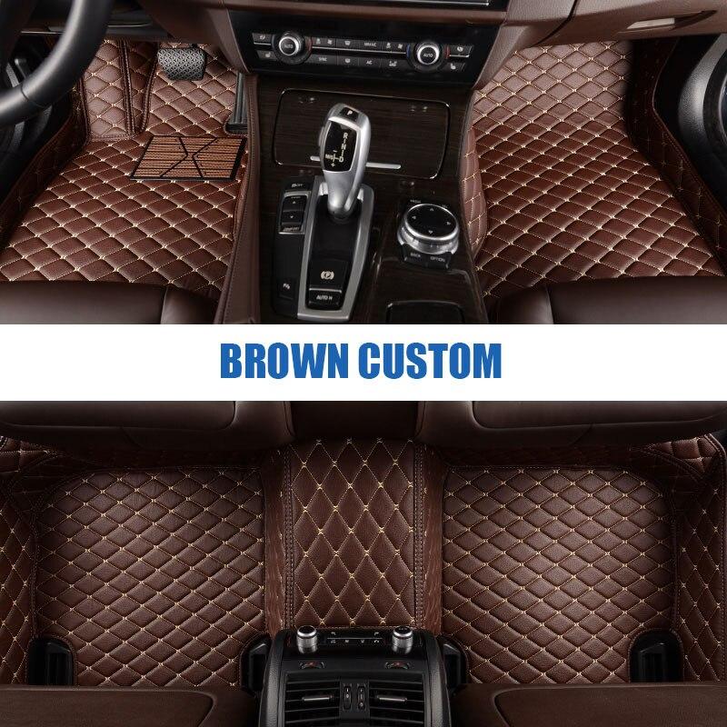 Personnalisé de voiture tapis de sol pour Mazda Tous Les Modèles cx5 CX-7 CX-9 RX-8 Mazda3/5/6/8 Mars 6 Mai 2014 323 accessoire de voiture style étage tapis