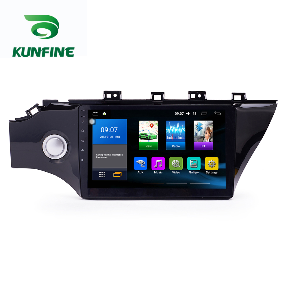 Octa Core 1024*600 Android 8.1 Auto DVD GPS Navigation-Player Deckless Auto Stereo Für <font><b>KIA</b></font> <font><b>K2</b></font> <font><b>2017</b></font> Radio Steuergerät WIFI image