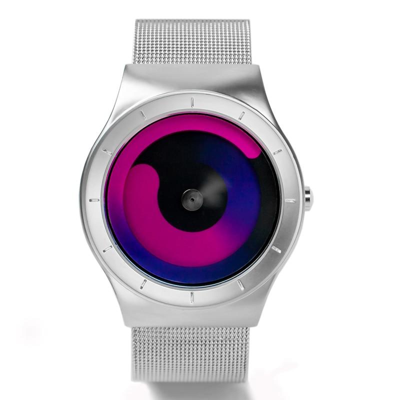 Finda Brand New 2018 Kreatywne Obrót Mężczyźni Zegarki Pasek - Męskie zegarki - Zdjęcie 2