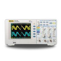 RIGOL оригинальный DS1102E цифровые осциллографы 100 МГц полоса пропускания 2 аналоговых Каналы 1 ГС/s DS1102E 100 МГц полоса пропускания осциллографов