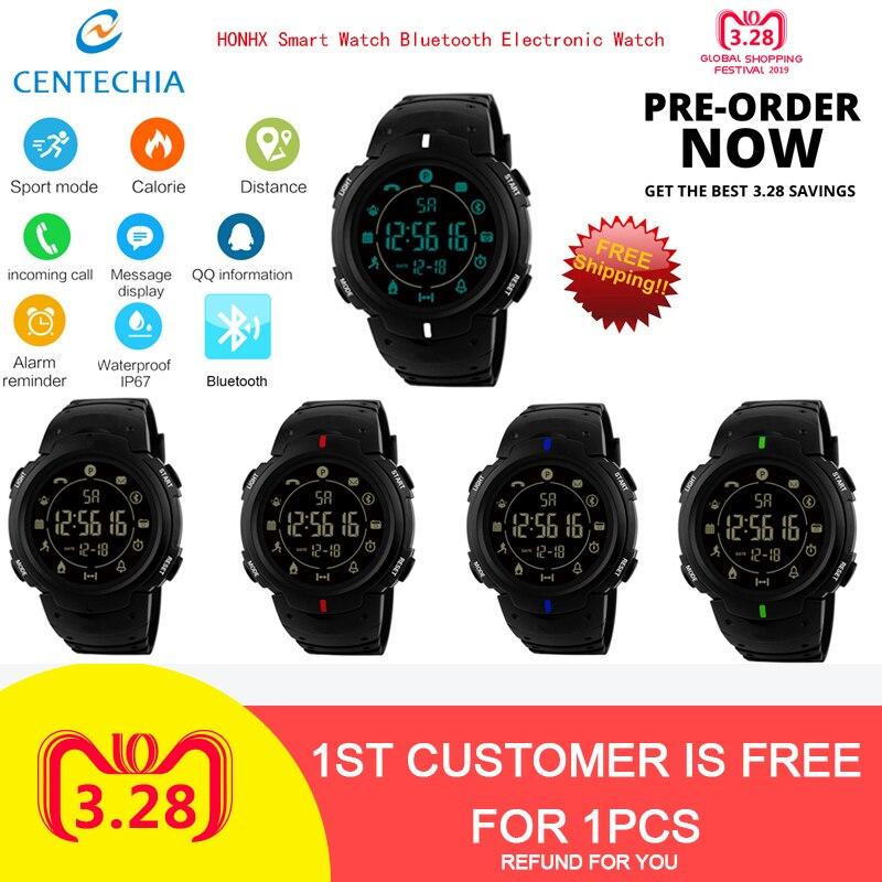 Smart Watches Spirited Honhx T90-1688 Sport Waterproof Fitness Tracker Smart Watch Bluetooth Mens Watch Phone Call Sim Smartwatch Electronic Watch