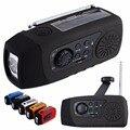 N29TF Altavoz portátil Multifuncional de Emergencia Cargador de Teléfono Solar de La Manivela de Radio FM Reproductor de MP3 Soporte de Tarjeta TF para Al Aire Libre