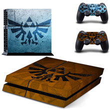 The Legend of Zelda PS4 Skin Sticker Decal Vinyl for Sony Playstation 4 Console and 2 Controllers PS4 Skin Sticker
