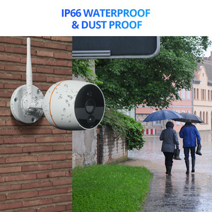 Image 4 - Home Security Drahtlose Kamera System 1080P Outdoor IP CCTV Kit 7 Zoll Touch Screen Wifi NVR 4CH Audio Überwachung kamera Set