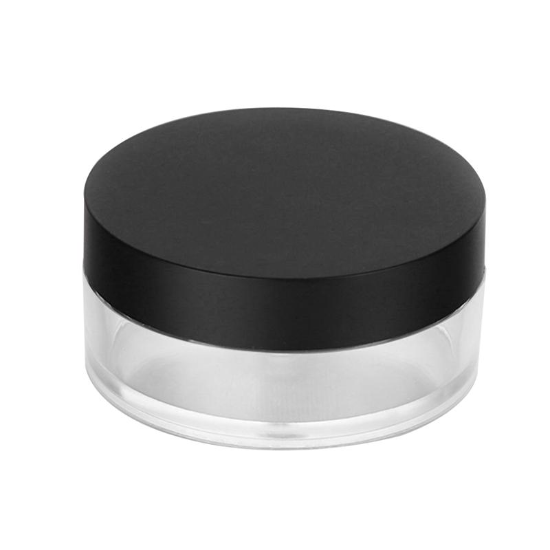 Image 3 - 20G Empty Powder Case Anti Leakage Double Layers Powder Puff Holder Makeup Powder Container with Mirror for Outdoors Home-in Refillable Bottles from Beauty & Health